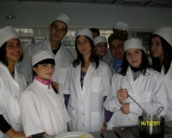 Готвачи учебна практика 9-ти клас 2011-2012